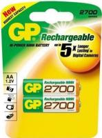 Аккумуляторы AA GP Batteries 270AAHC-2PL2 2BP -