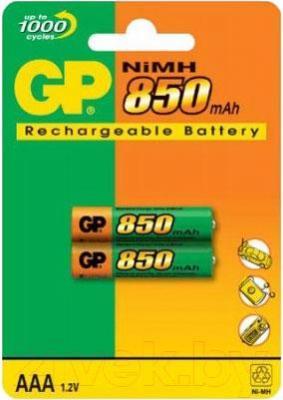 Аккумуляторы AAA GP Batteries 85AAAHC-2UEC2 2BP