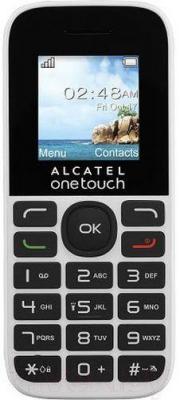 Мобильный телефон Alcatel One Touch 1016D (белый)