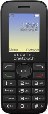 Мобильный телефон Alcatel One Touch 1016D (черный)
