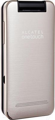 Мобильный телефон Alcatel One Touch 2012D (золотой)