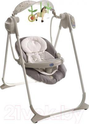 Качели для новорожденных Chicco Polly Swing Up (Grey)