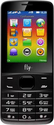Мобильный телефон Fly FF242 (черный)