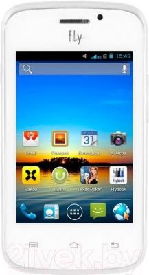 Смартфон Fly IQ239+ (белый)