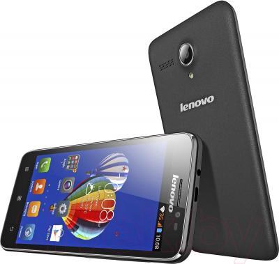 Смартфон Lenovo A606 (черный)