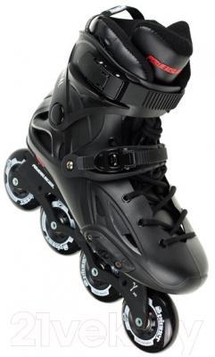 Роликовые коньки Powerslide Imperial Black 908027 (размер 46)