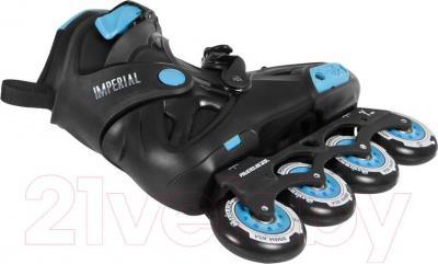 Роликовые коньки Powerslide Imperial Blue 908044 (размер 39)