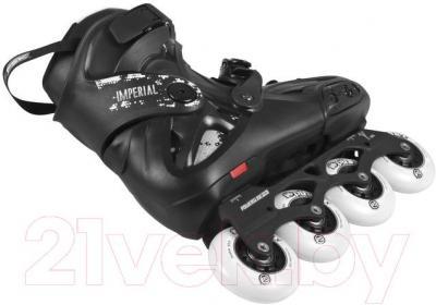 Роликовые коньки Powerslide Imperial One 80 908066 (черный, размер 43)