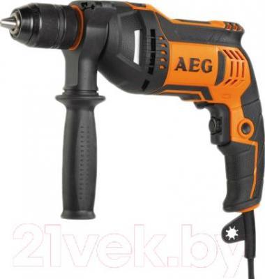 Профессиональная дрель AEG Powertools BE 750 R (4935449160) - общий вид