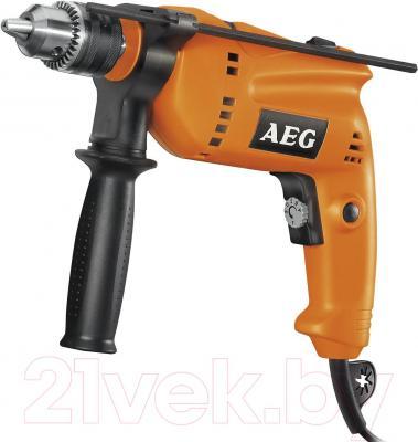 Профессиональная дрель AEG Powertools SBE 570 R (4935412681) - общий вид