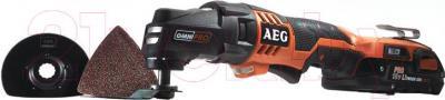 Профессиональный мульти-инструмент AEG Powertools OMNI18C LI-152B (4935440644) - общий вид