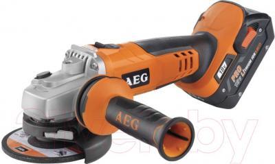 Профессиональная болгарка AEG Powertools BEWS 18-125X Li-402C (4935443460) - общий вид