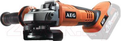 Профессиональная болгарка AEG Powertools BEWS 18-125-0 (4935431998) - общий вид