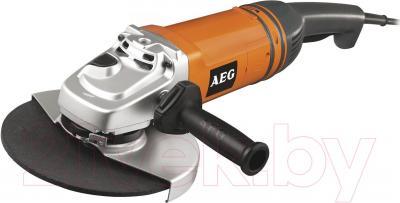Профессиональная болгарка AEG Powertools WS 2200-230 DMS (4935428500) - общий вид