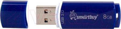 Usb flash накопитель SmartBuy Crown Blue 8GB (SB8GBCRW-Bl)