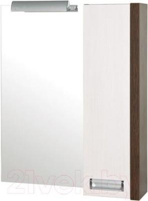 Шкаф с зеркалом для ванной Аква Родос Маттео 70 R