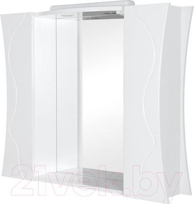 Шкаф с зеркалом для ванной Аква Родос Соло 100