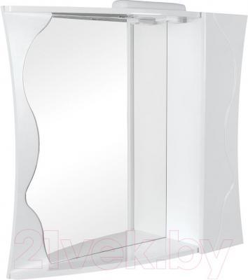 Шкаф с зеркалом для ванной Аква Родос Соло 90 R