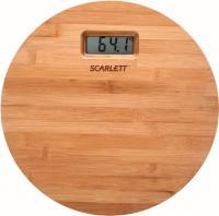 Напольные весы электронные Scarlett SC-BS33E061 (бамбук) -