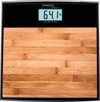 Напольные весы электронные Scarlett SC-BS33E064 (бамбук) -