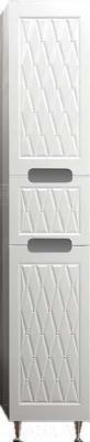 Шкаф-пенал для ванной Ванланд Венеция 1 (левый, белый)