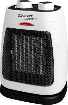 Тепловентилятор Scarlett SC-FH53K07 (бело-черный)