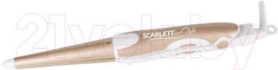 Плойка Scarlett SC-HS60599 (белый/золото)
