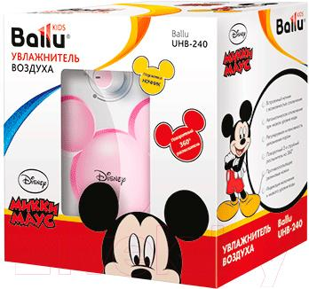 Ультразвуковой увлажнитель воздуха Ballu UHB-240 (розовый)