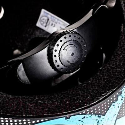 Защитный шлем Powerslide Allround Biohazard S-M 903127 - микро-регулируемое кольцо