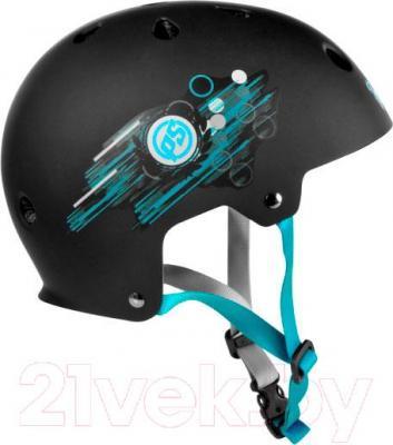 Защитный шлем Powerslide Allround 1 Boys XXS-XS 903208 - вид сбоку