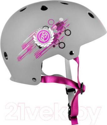 Защитный шлем Powerslide Allround 1 Girls S-M 903209 - вид сбоку