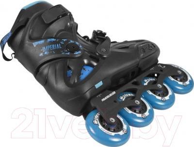Роликовые коньки Powerslide Imperial One 80 908067 (синий, размер 44)