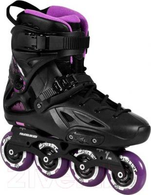Роликовые коньки Powerslide Imperial One 80 908068 (фиолетовый, размер 40)