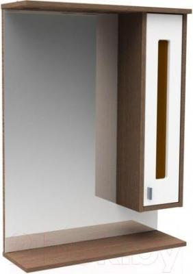 Шкаф с зеркалом для ванной Asomare Рио 62 (54.04)
