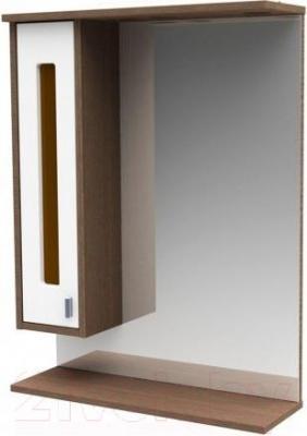 Шкаф с зеркалом для ванной Asomare Рио 62 (54.04-01)