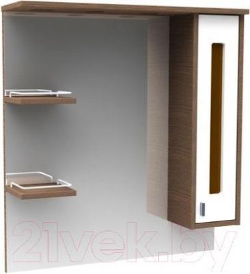 Шкаф с зеркалом для ванной Asomare Рио 75 (54.05)