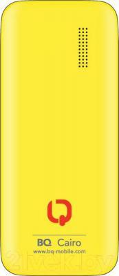 Мобильный телефон BQ Cairo BQM-1804 (желтый)