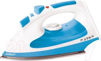 Утюг Scarlett SC-SI30P02 (бело-голубой)