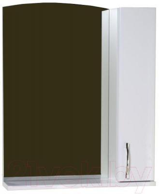 Шкаф с зеркалом для ванной АВН Эко 60 (13.06)