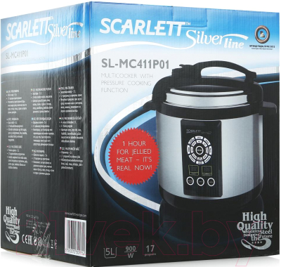 Мультиварка-скороварка Scarlett SL-MC411P01 - коробка