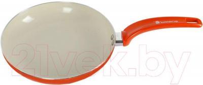 Сковорода Polaris Rain-26F (оранжевый)