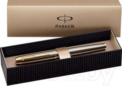 Ручка перьевая Parker IM Brushed Metal GT S0856230 - упаковка