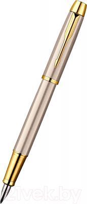 Ручка перьевая Parker IM Brushed Metal GT S0856230 - общий вид
