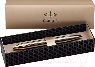 Ручка шариковая Parker IM Brushed Metal GT S0856480 - упаковка