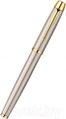 Ручка-роллер Parker IM Brushed Metal GT S0856400