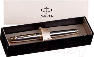Ручка-роллер Parker IM Brushed Metal GT S0856400 - упаковка