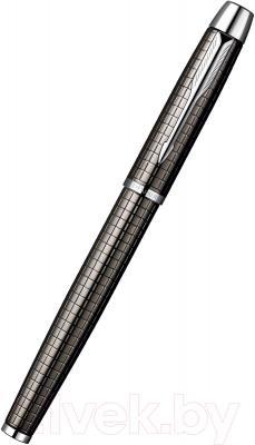 Ручка перьевая Parker IM Premium Dark Grey Chiselled S0908690