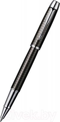 Ручка-роллер Parker IM Premium Dark Grey Chiselled S0908700 - общий вид