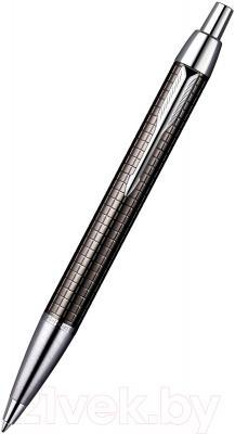 Ручка шариковая Parker IM Premium Dark Grey Chiselled S0908710