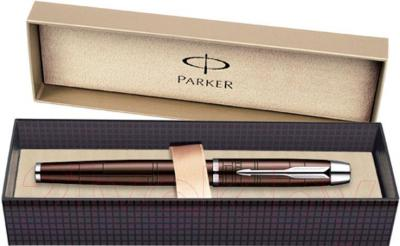 Ручка перьевая Parker IM Premium Metallic Brown CT S0949710 - упаковка